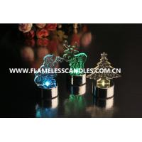 Wholesale Amber / Color Changing Flameless LED Christmas Candles for Wedding / Holiday Gift from china suppliers