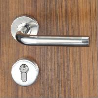 Wholesale 3 Brass Keys Mortise Door Lock Set Escutcheon Lock for Entrance , Passage from china suppliers