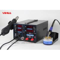 Wholesale YIHUA 853D 1A with 5V Output USB interface has Auto / Manual conversion function 3in1 Soldering Station from china suppliers