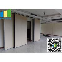 Wholesale Movable Exhibition Partition Walls Sliding Folding Made By Melamine from china suppliers