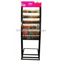 Wholesale Floorstand Metal Cosmetic Display Stand ,  Makeup Nail Polish Display Stand from china suppliers