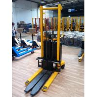 Wholesale 3ton electric forklift Semi electric stackers  with long forks from china suppliers