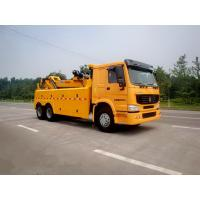 Wholesale Wrecker Tow Truck , 3 Winches Road Wrecker For Accidents And Parking Violations from china suppliers