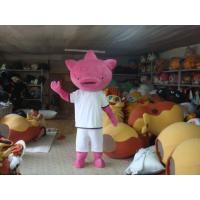 Quality Pig Mascot Adult Cartoon Character Costume for Ceremonies for sale