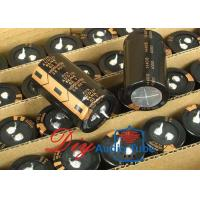China High Capacitance Audio Electrolytic Capacitors 10000UF 63V For Audio Series on sale
