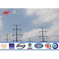 Wholesale AWS D 1.1 Electrical Power Pole 65 FT Steel Power Pole Hot Dip Galvanization from china suppliers
