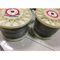 Wholesale 0.05mm - 12mm Nichrome Alloy Heating / Resistance Alloy Nicr 80/20 Wire 19 Strands from china suppliers