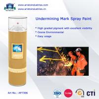 Wholesale Undermining Mark Spray Paint / Mine Marking Out Paint & Non-Flammable Layout Marker from china suppliers