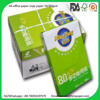 Wholesale Good Quality A4 Size letter size paper 70g/80g Copier Paper with Cheap Price from china suppliers