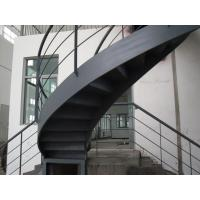 Wholesale Sturdy Stairs Fabrication Multi Storey Steel Structure Safety Modern High Strength from china suppliers