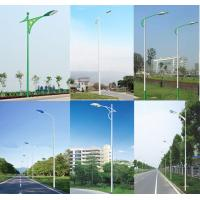 steel tubular lighting pole/light poles/lamps pole