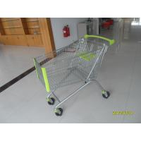 Quality Heavy Duty 150L Supermarket Shopping Carts With Anti UV Plastic Parts for sale