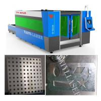 Quality Galvanized Sheet Laser Cutting Machine-Unique Fumes Exhausting system to protect worker for sale