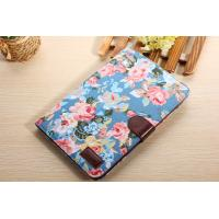 "Wholesale Ipad Air 9.7"" Tablet Flower Cloth Leather Case Cover Flip Stand Cover from china suppliers"