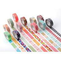 Buy cheap Lace Washi Masking Tape Keyboard With Personalized Colored Designs from wholesalers