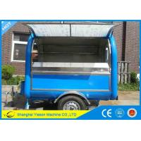Wholesale Customize Logo Mobile Food Cart Big Space Global Street Food Kiosk from china suppliers
