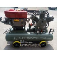 Wholesale Gold Mining 25 HP Diesel Engine Mobile Piston Air Compressor 3.2m3/Min 7 Bar from china suppliers