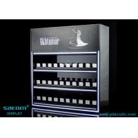 Wholesale Custom Three Layers Cigarette Display Cabinet With Gliding Dispenser In Shop from china suppliers