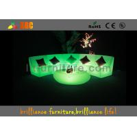 Wholesale Plastic Waterproof LED Sofas / Outdoor LED furniture 5V 4400mAh from china suppliers