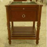 Wholesale Stone top wooden night stand /bed side table,hospitality casegoods,hotel furniture NT-0082 from china suppliers