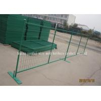 Wholesale PVC Coated Metal Temporary Security Fencing For Backyard OEM / ODM from china suppliers