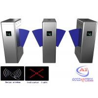 Wholesale Office Baffle barrier RFID Turnstile security gate barcode fingerprint and RFID reader from china suppliers