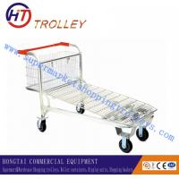 Wholesale Grocery Store Steel Mesh Shopping Carts / Trolley For Warehouse OEM & ODM from china suppliers