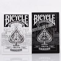 Quality Bicycle Truth Garden No.03 04 Invisible Cheating Playing Cards For Filter Camera for sale