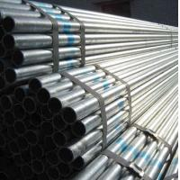 Wholesale Customized BS1387 Galvanized Steel Pipes, Thin Wall Hot Dipped Galvanized Tube Plain End from china suppliers