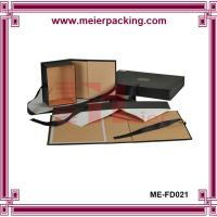 Wholesale Flat Pack Hat Box Made In China/folding hat box/pink hat boxes ME-FD021 from china suppliers