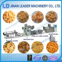Wholesale Automatic extruded snack food fried wheat flour bugle machines from china suppliers
