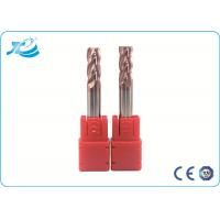 Wholesale Carbide Corner Radius End Mill Milling Cutter Tools , Corner Rounding End Mill from china suppliers