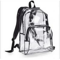 Wholesale Hot-selling Fashionable Climbing backpack Travel Backpack PVC clear bag Hiking backpack from china suppliers