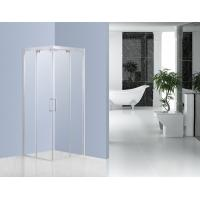 Wholesale Buffering Sliding Glass Shower Enclosures With 6mm Clear Tempered Glass from china suppliers