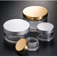 Wholesale JP-F20, 50g 100g 150g 200g thick wall PETG cosmetic jar container for skin care bodycare from china suppliers