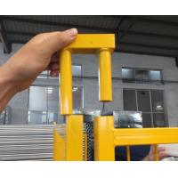 Wholesale Galvanized Canada temporary fence,high standard construction fence,removable fence from china suppliers