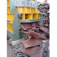 Wholesale Horizontal Scrap Metal Shear With Feeding Conveyor , 1200mm Trapeziform Blade Length from china suppliers