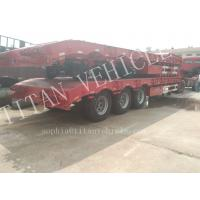 China Heavy duty 3 axles 70tons capacity extendable low bed semi trailer ,Warranty Coverage 12 month lowbedtraier on sale