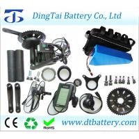 Wholesale BBS03/BBSHD 8Fun 48V 1000W mid drive motor kit with triangle battery 48V 30Ah+Triangle bag for fat bike from china suppliers