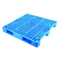 Quality 1400*1200*150 mm Heavy duty HDPE Plastic pallet with three runners from China plastic pallet factory for sale