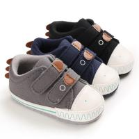 Buy cheap Hot selling Canvas sport Cute soft 0-2 years boy girl outdoor sneaker baby shoes from wholesalers