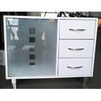 Wholesale 3 Drawers Luxury Curve Floor Bathroom Sink Furniture Cabinet for Shampoo from china suppliers