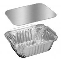 Wholesale Hotel Silver Aluminum / Aluminium Containers For Food Takeaway Packaging from china suppliers