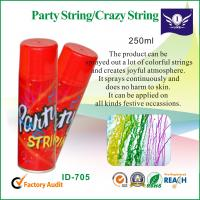 Wholesale Non Flammable Colorful Party String Spray For For Wedding / Birthday Party from china suppliers