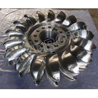 Wholesale Pelton Wheel / Turbine Runner with Forge  CNC Machine for Power 2MW - 20MW from china suppliers