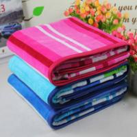 Wholesale Stripe Cotton Beach Towels Jacquard Pool Towel With Different Sizes from china suppliers