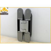 Quality Aluminium Alloy Wardrobe Door Hinges Spring Loaded Hinges Baking  Finish for sale