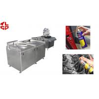 Wholesale Automatic Aerosol Filling Line for Carburetor& Injector Cleaner , Carburetor Cleaning Agent from china suppliers
