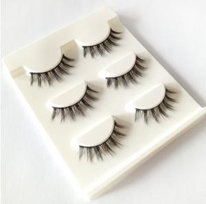 Wholesale New 3 pairs natural false eyelashes fake lashes long makeup 3d mink lashes extension eyelash mink eyelashes for beauty from china suppliers