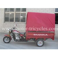 Wholesale Cabin Seats Cargo / Passenger Motor Tricycle Single Exhaust With 12L Fuel Tank from china suppliers